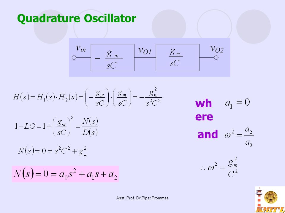 Quadrature Oscillator