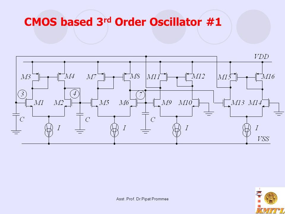 CMOS based 3rd Order Oscillator #1