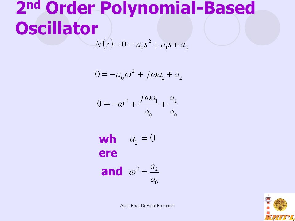 2nd Order Polynomial-Based Oscillator