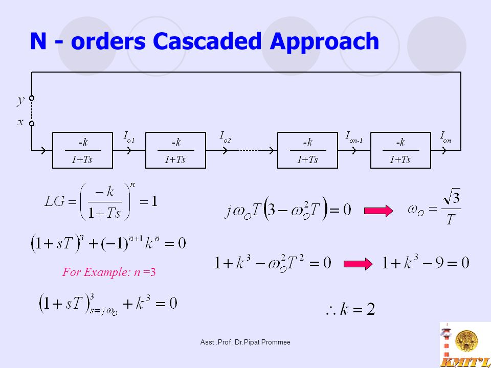 N - orders Cascaded Approach