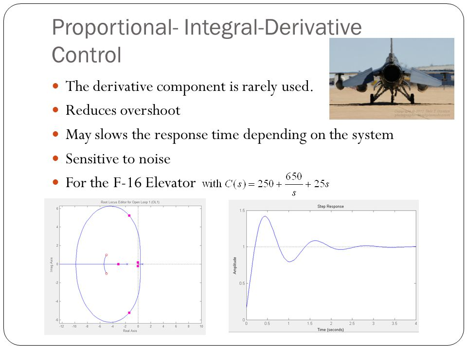 Proportional- Integral-Derivative Control