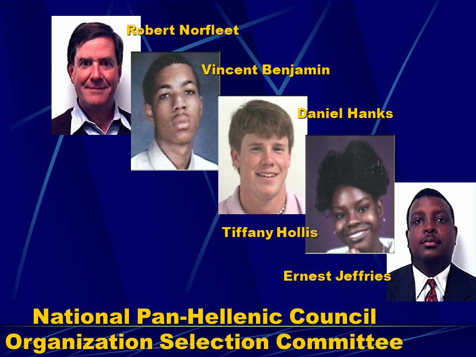 National Pan-Hellenic Council Organization Selection Committee