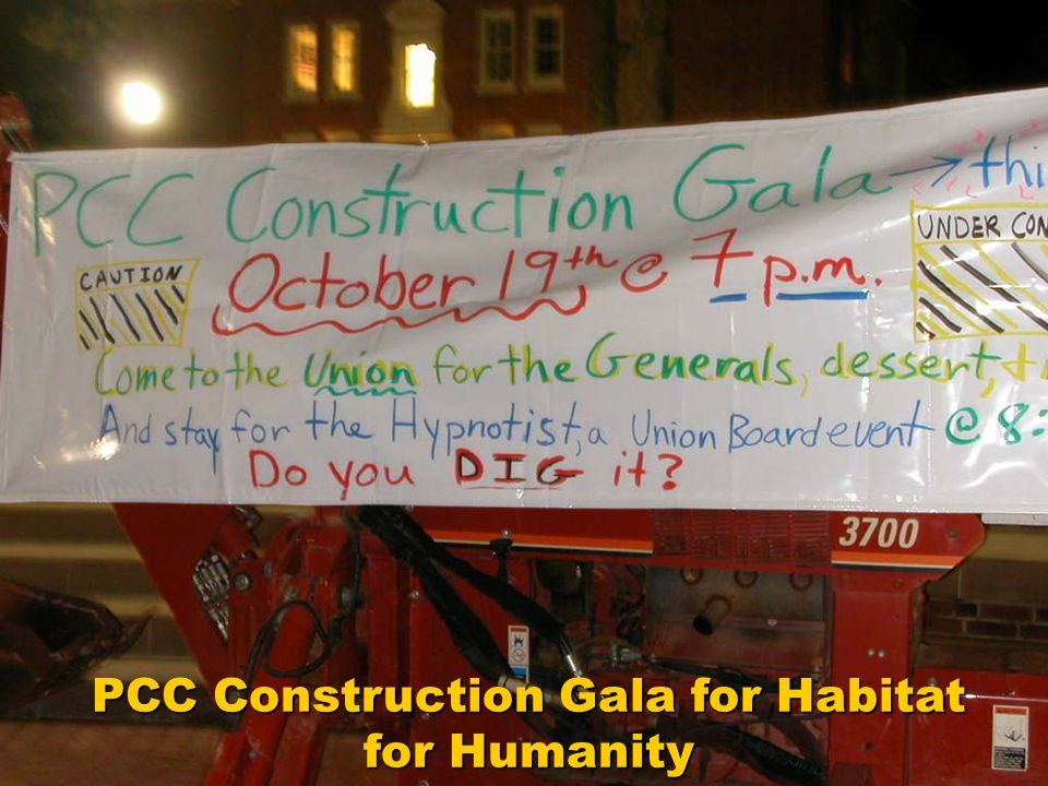 PCC Construction Gala for Habitat for Humanity