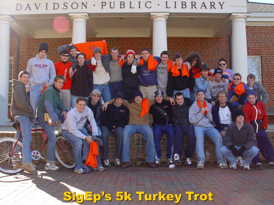 SigEp's 5k Turkey Trot