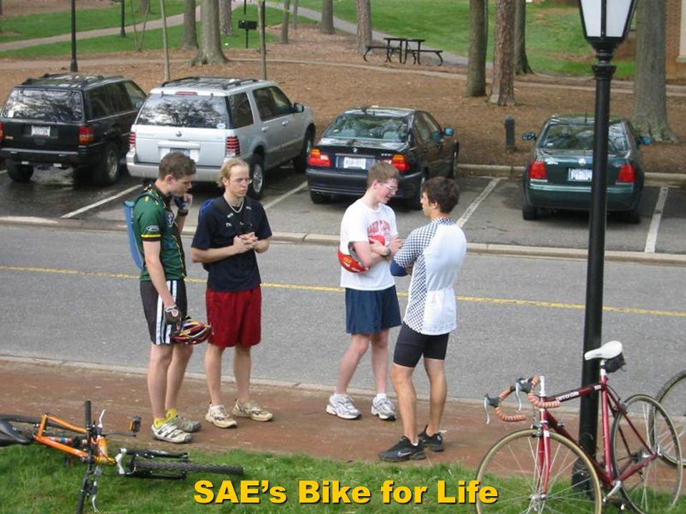 SAE's Bike for Life