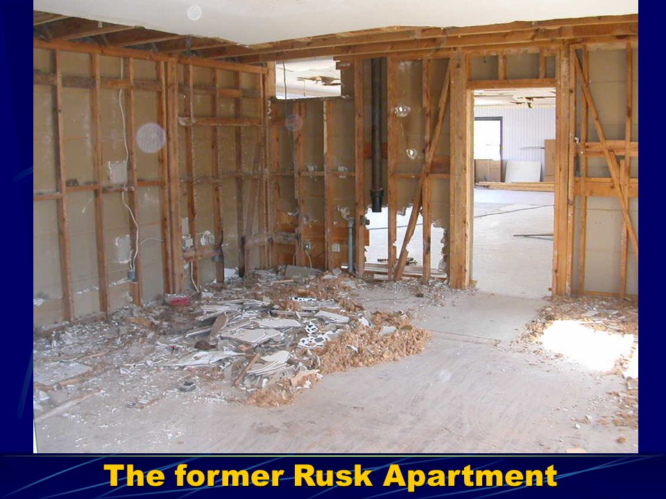 The former Rusk Apartment