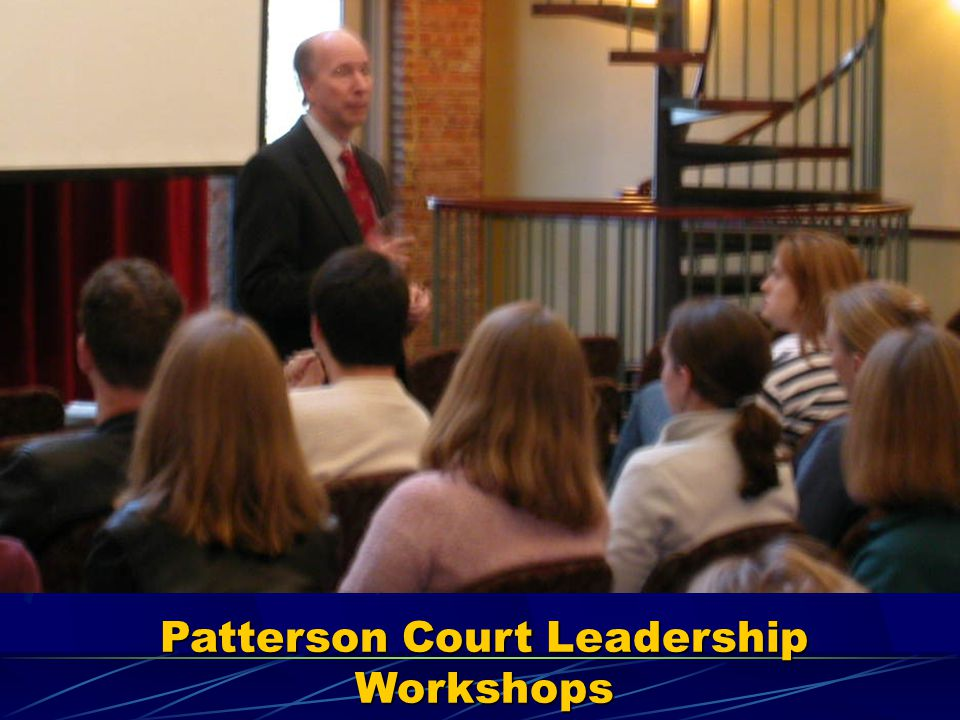 Patterson Court Leadership Workshops
