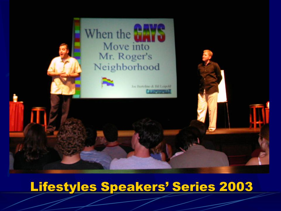 Lifestyles Speakers' Series 2003