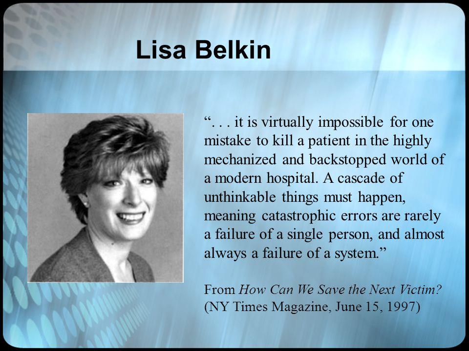 Lisa Belkin