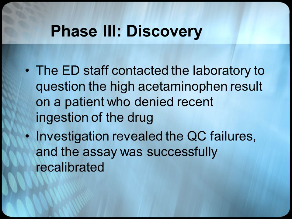 Phase III: Discovery