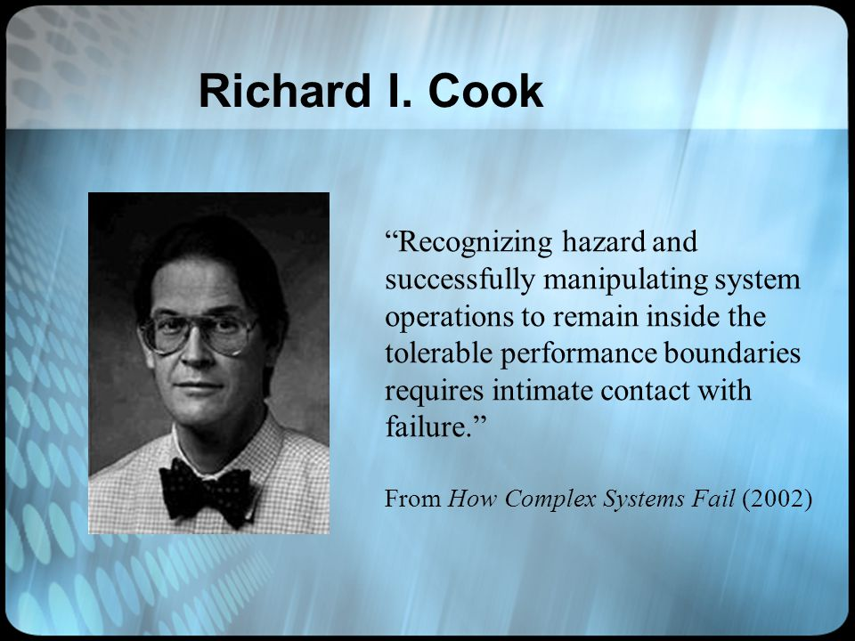 Richard I. Cook