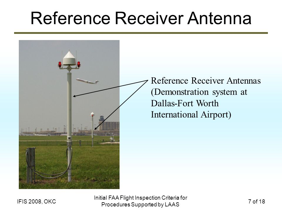 Reference Receiver Antenna