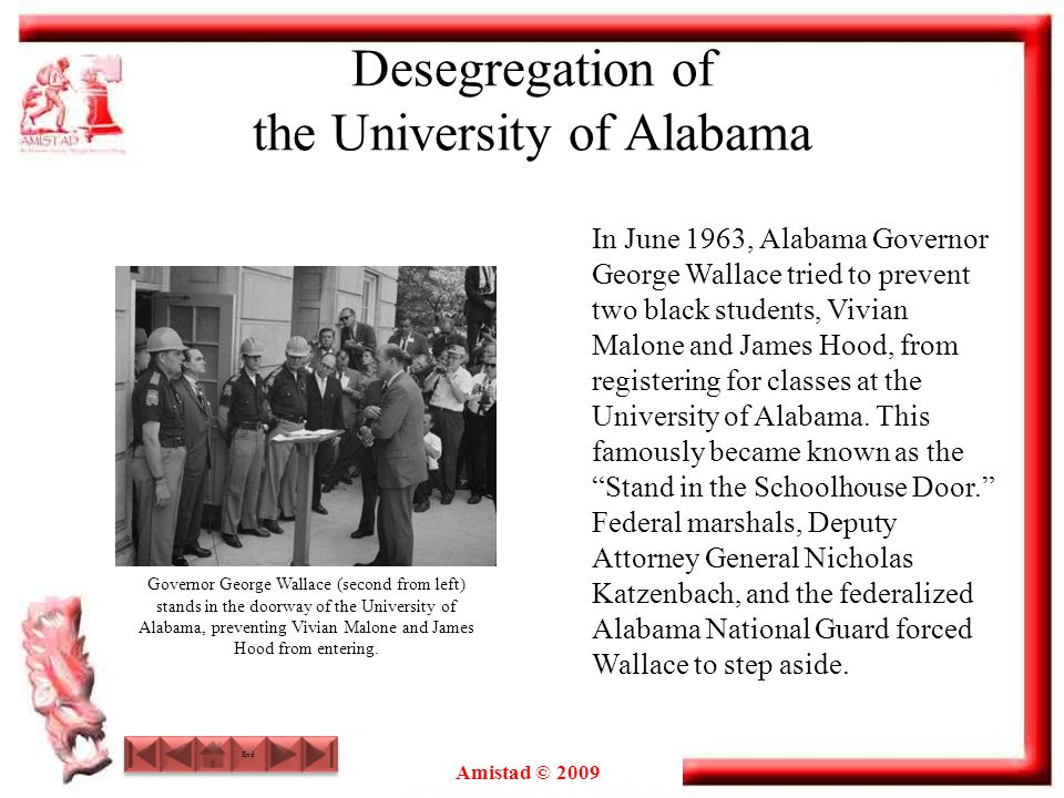 Desegregation of the University of Alabama