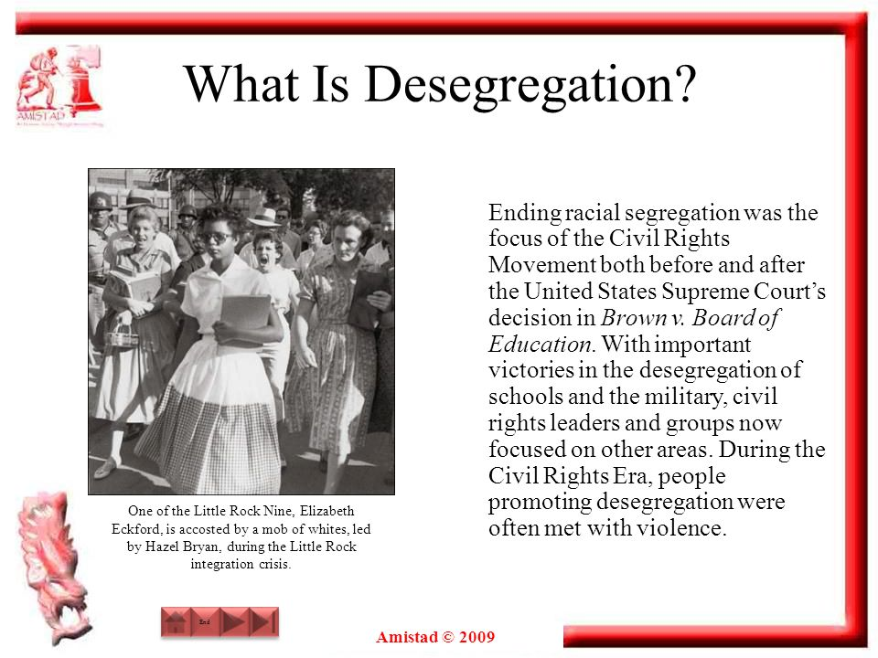What Is Desegregation