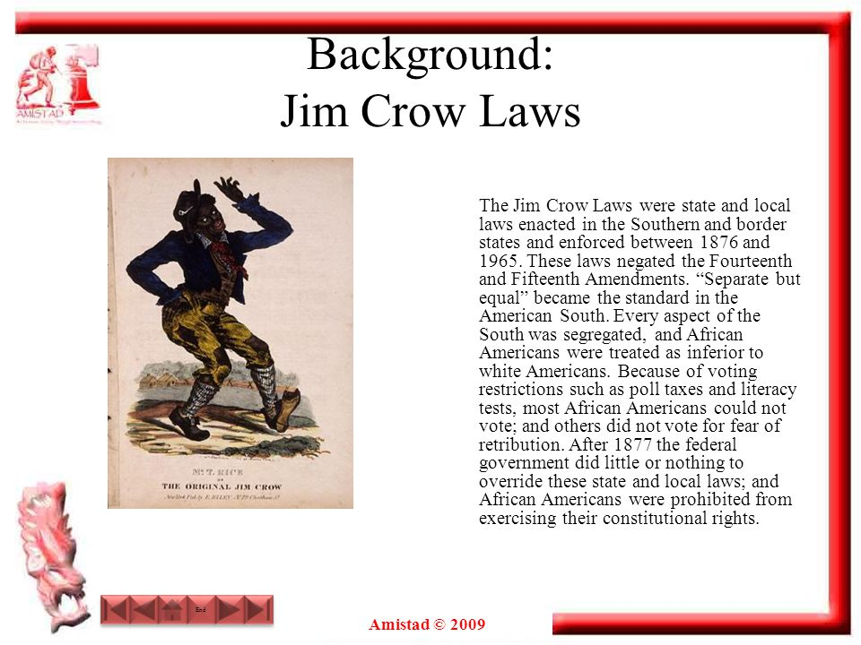 Background: Jim Crow Laws