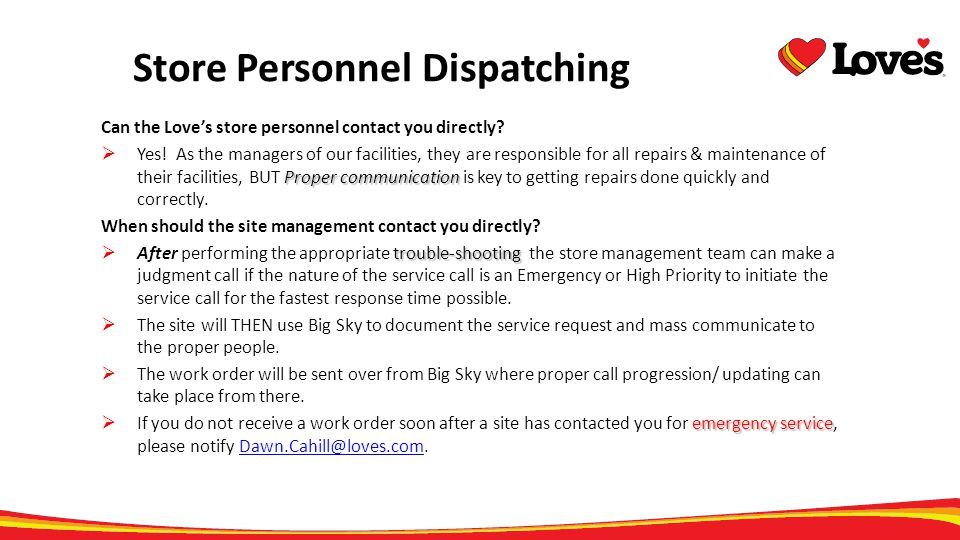 Store Personnel Dispatching