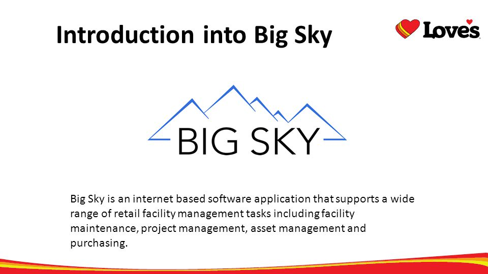 Introduction into Big Sky