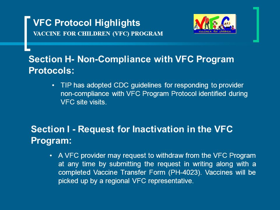 VFC Protocol Highlights