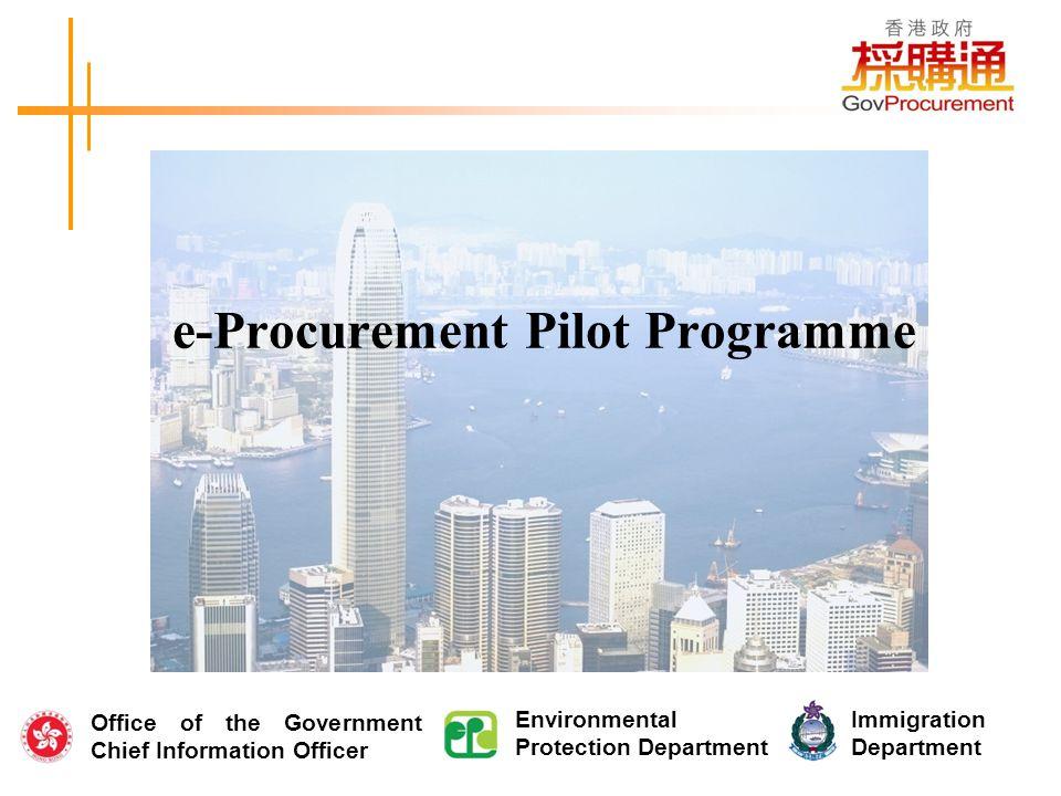 Agenda Progamme Overview Benefits of e-Procurement System