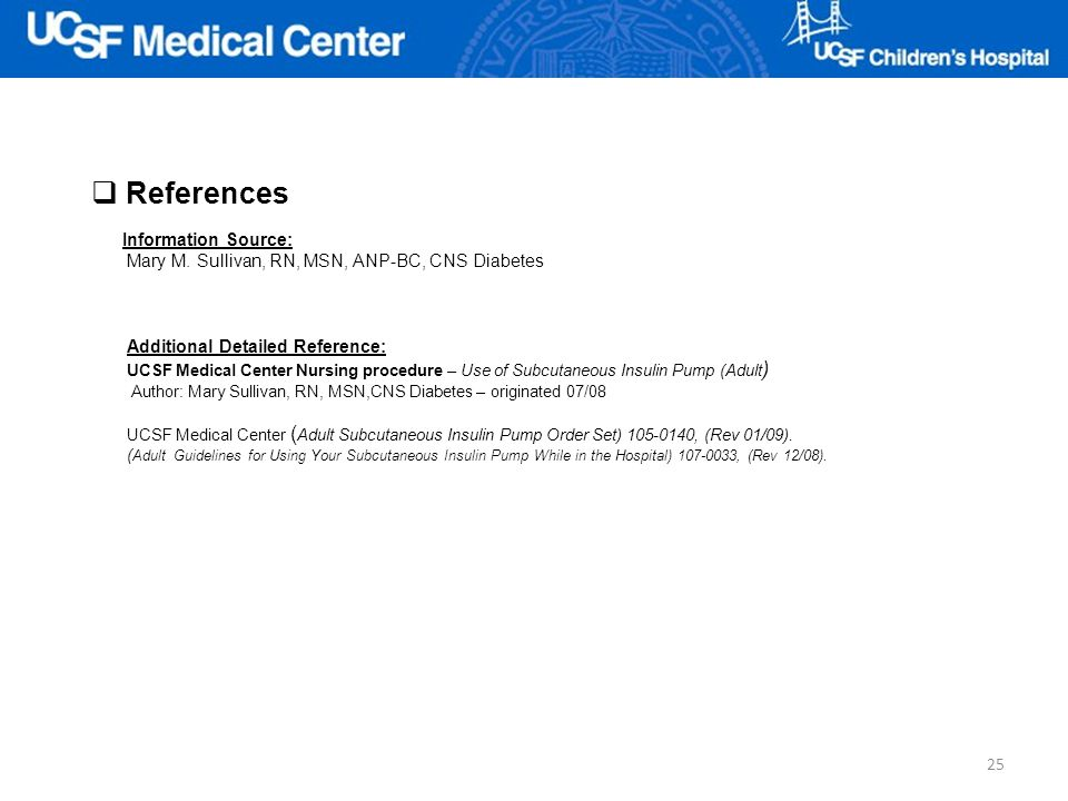 References Information Source: