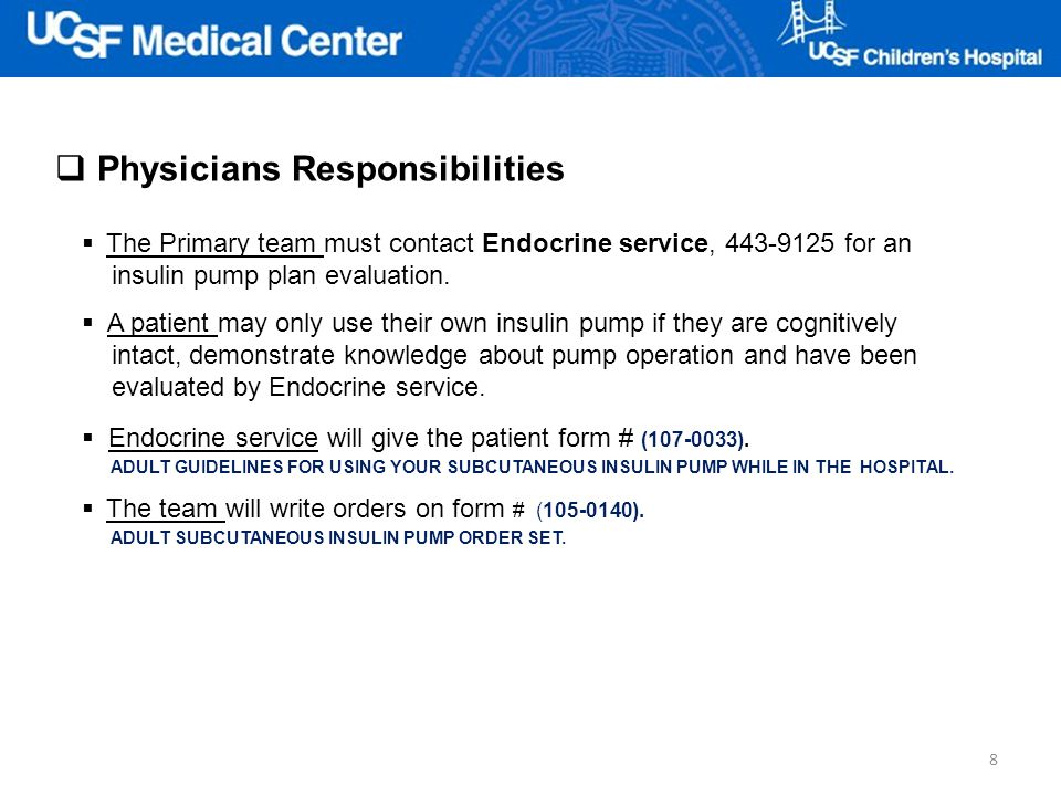 Physicians Responsibilities