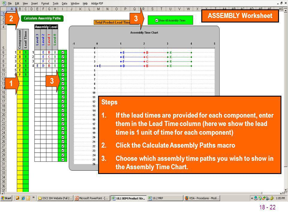 2 3 3 1 ASSEMBLY Worksheet Steps