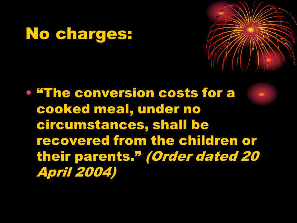 No charges: