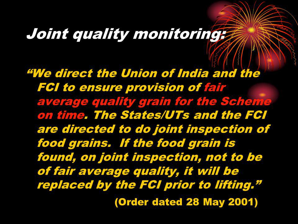 Joint quality monitoring: