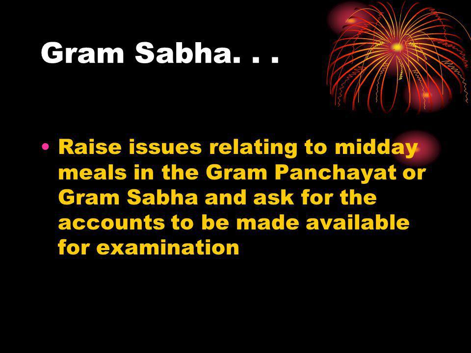 Gram Sabha. . .