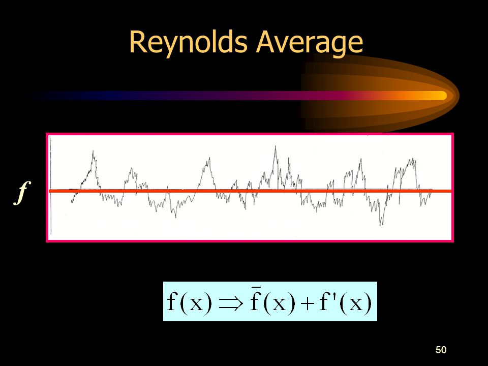 Reynolds Average f