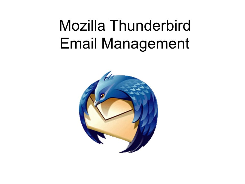 Mozilla Thunderbird Management