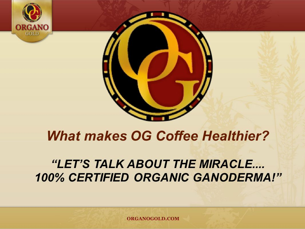What makes OG Coffee Healthier