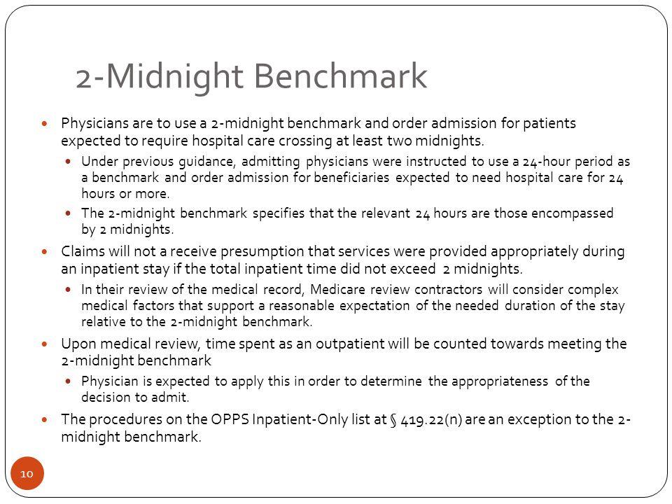 2-Midnight Benchmark