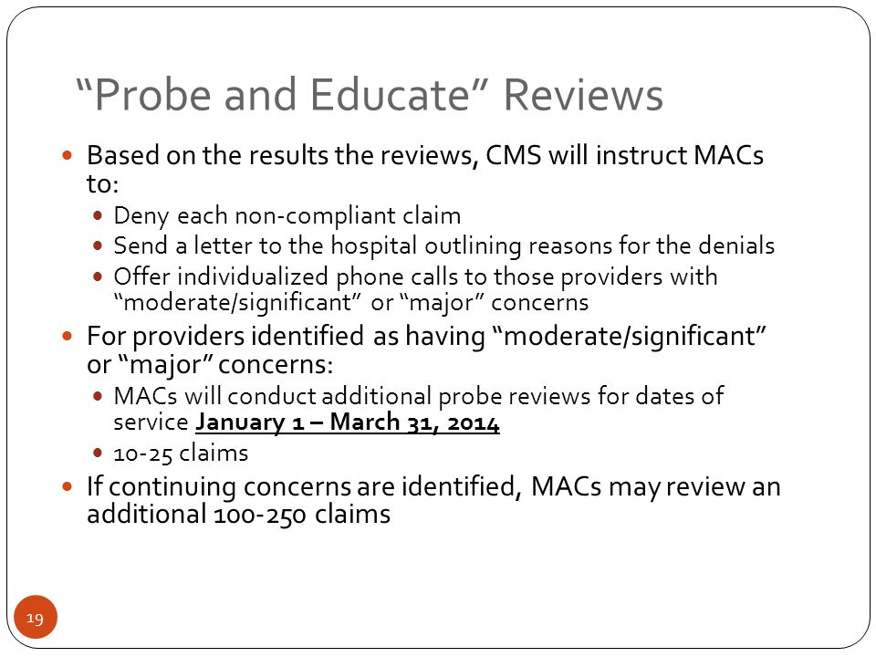 Probe and Educate Reviews
