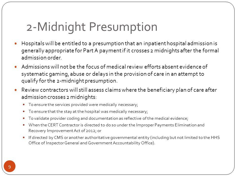 2-Midnight Presumption