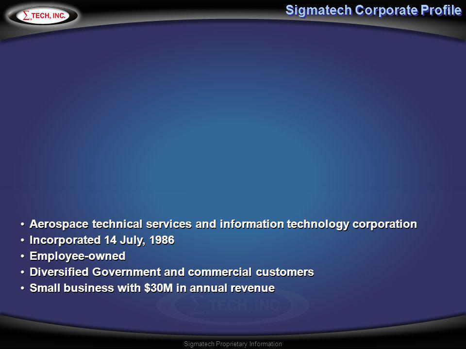 Sigmatech Corporate Profile