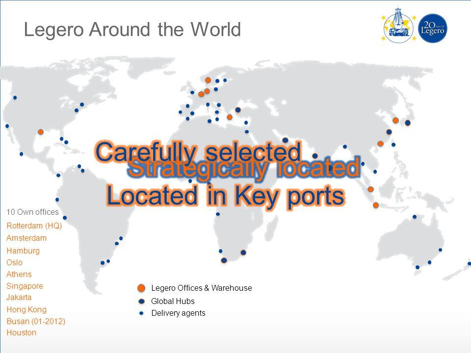 Legero Around the World