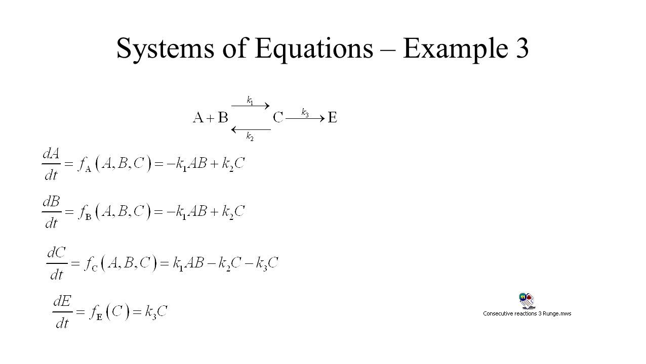 Systems of Equations – Example 3