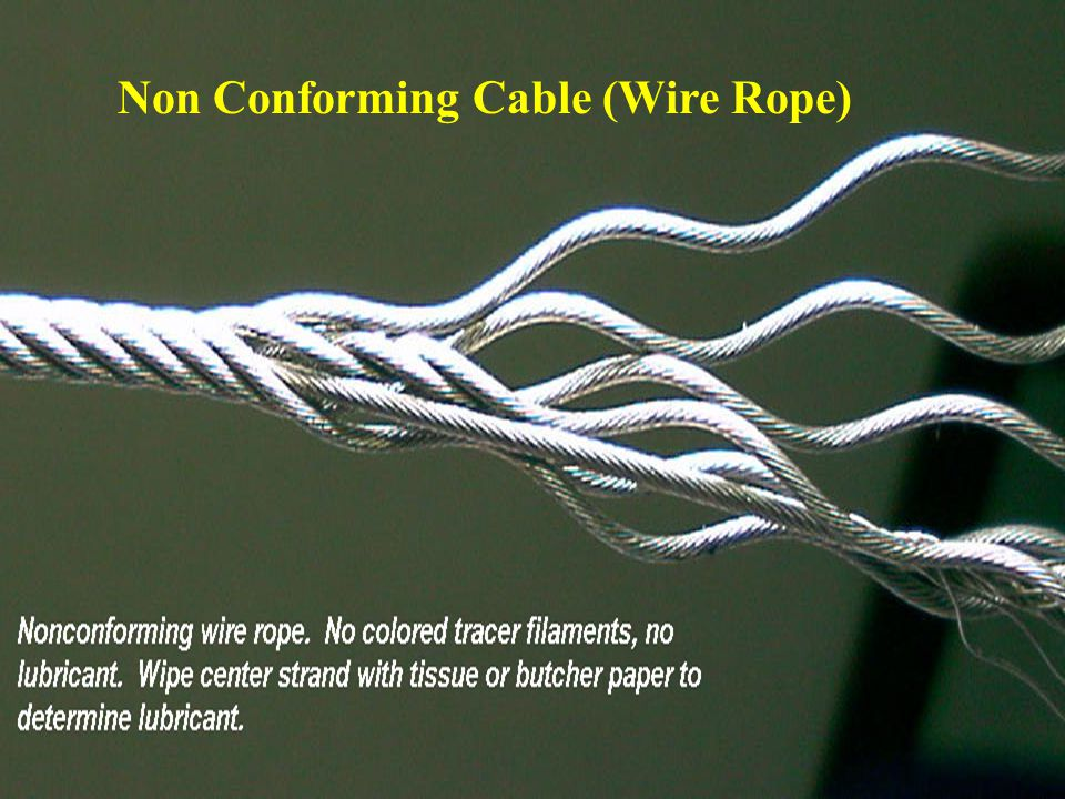 Non Conforming Cable (Wire Rope)