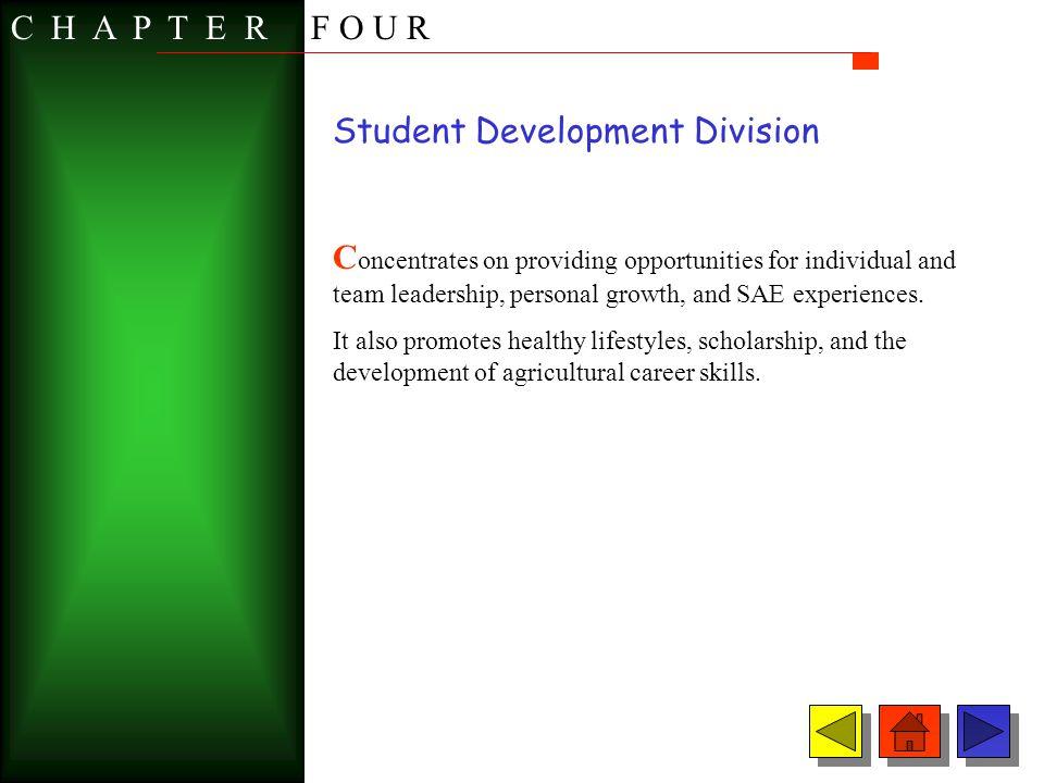 Student Development Division