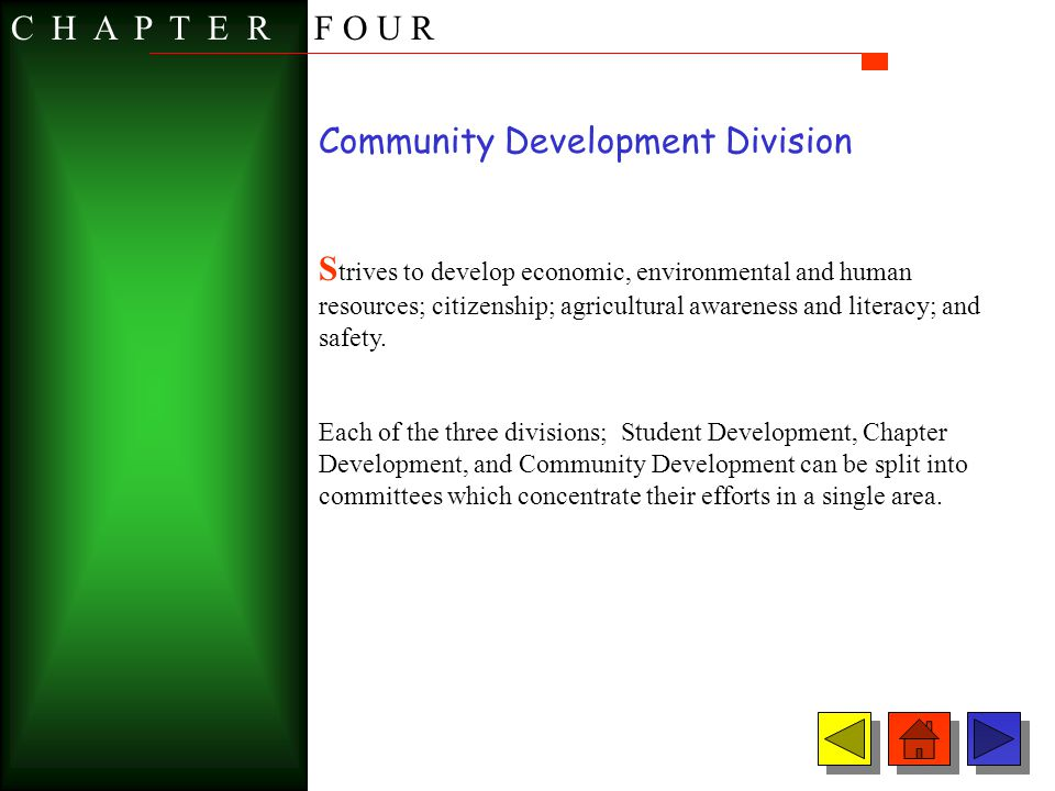 Community Development Division