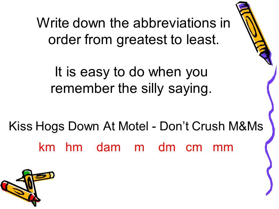 Kiss Hogs Down At Motel - Don't Crush M&Ms