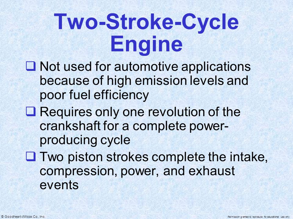 Two-Stroke-Cycle Engine