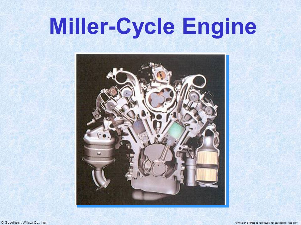 Miller-Cycle Engine