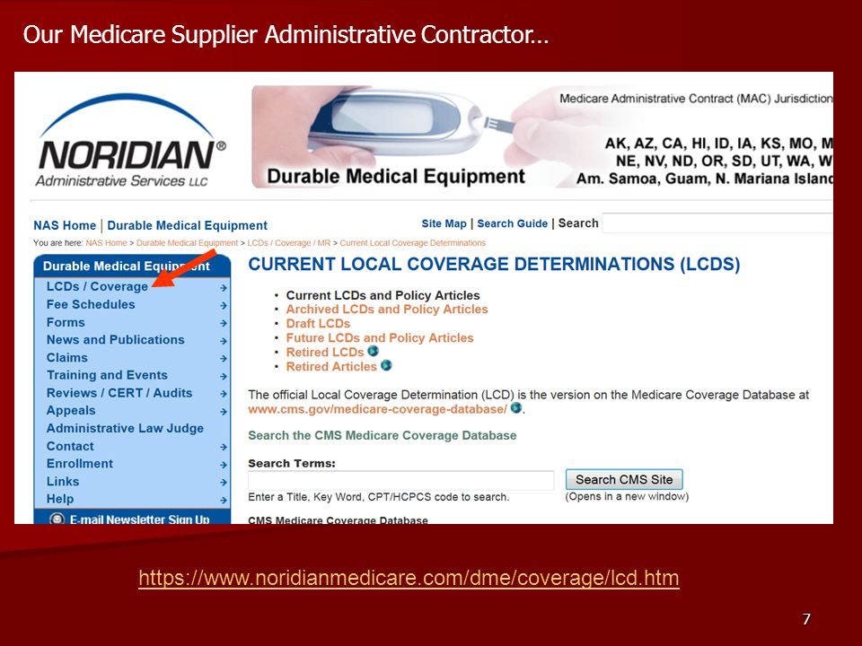 Our Medicare Supplier Administrative Contractor…