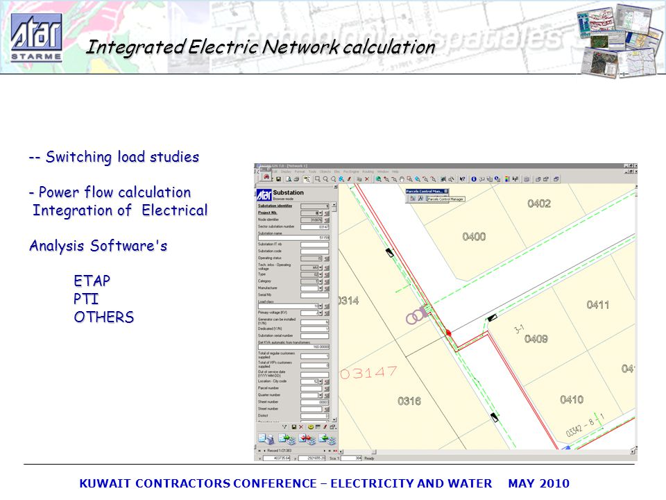 Integrated Electric Network calculation