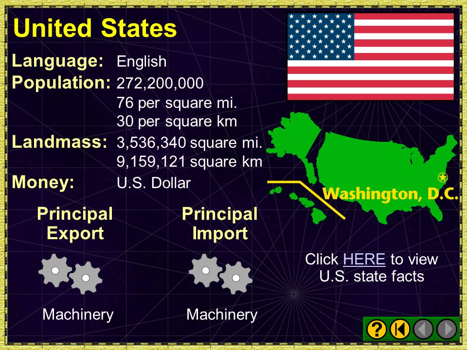Click HERE to view U.S. state facts