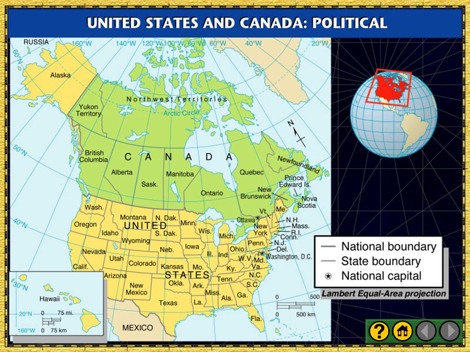 United States and Canada: Political