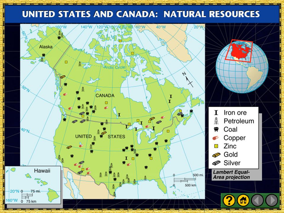 United States and Canada: Natural Resources