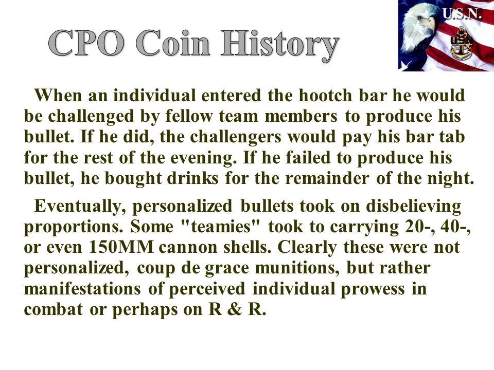 CPO Coin History